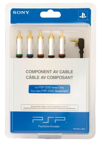 CAB SONY COMPONENT AV CABLE FOR PSP-2000
