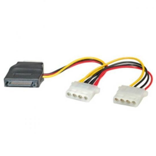 CAB CC-SATA-PS-M SATA TO MOLEX POWER CABLE 0.15M