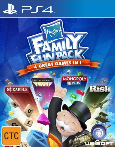PS4 Hasbro Family Fun Pack