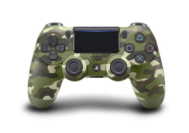 SONY PlayStation DualShock®4 v2 Green Camouflage