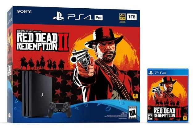 SONY PlayStation 4 1TB Pro + Red Dead Redemption 2