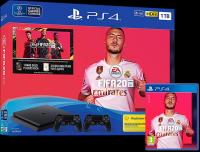 SONY PlayStation PS4 slim 1TB + Dualshock 4 controller + FIFA 20